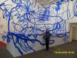 Mur d'art Contemporain