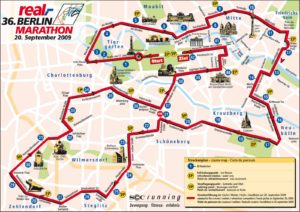 Berlin marathon route